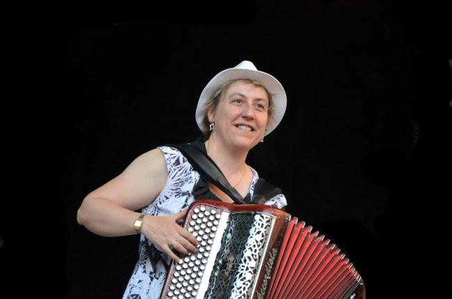 Sylvie Pulles bal du 14 juillet à Aurillac, été givré