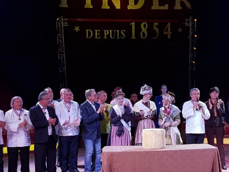 Le Cantal au cirque Pinder à Paris