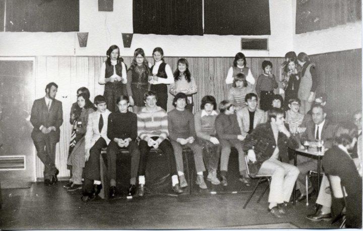 Aspiranten in 1972 ( Foto Ria Vogels )