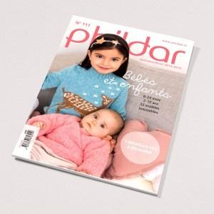 Aux Doigts de Fée  N° 111 PHILDAR enfants layette 2014