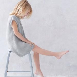 Modèle robe grise enfant Phil Madrague