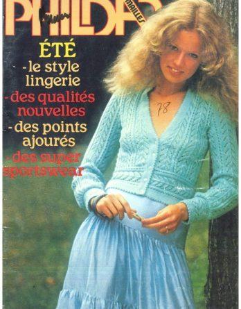 N° 59 PHILDAR crochet femmes année 1978