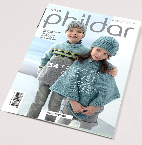 6c1f87d2bf6 Catalogue N° 150 PHILDAR spécial enfant 2017 2018