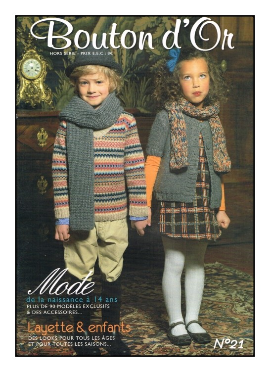 CATALOGUE  TRICOT  Bouton d/'or N° 87