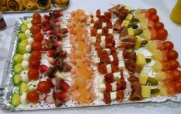 BROCHETTES SALEES AUX PECHES NORMANDS