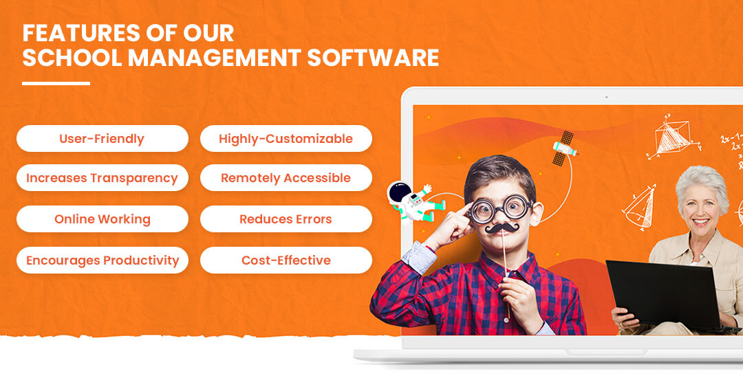 Features of Our School Management Software