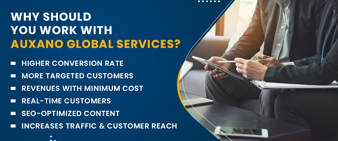 Why should you work with Auxano Global Services