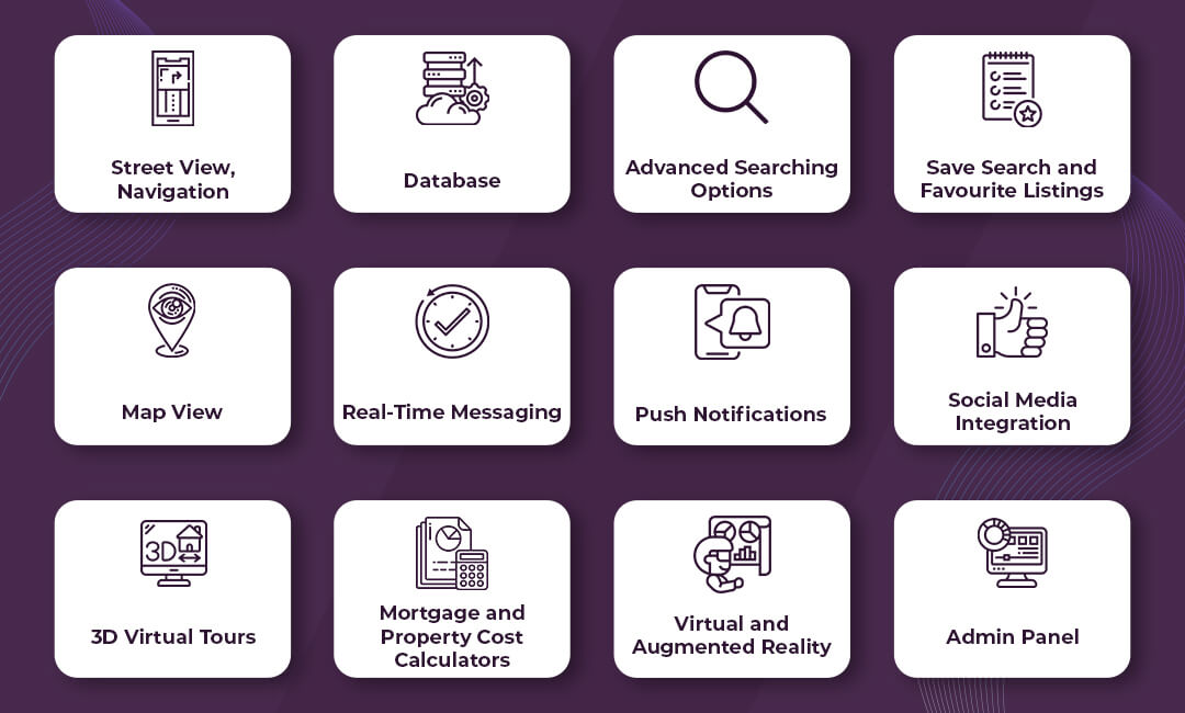 Basic Features in a Real Estate Mobile App Development