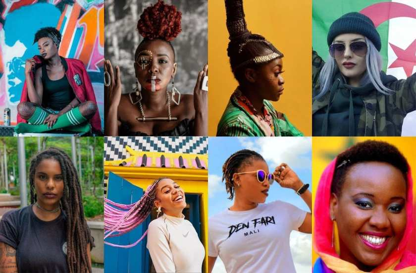 Female rappers & Africa in 2020: Ears to the ground ! - #AuxSons