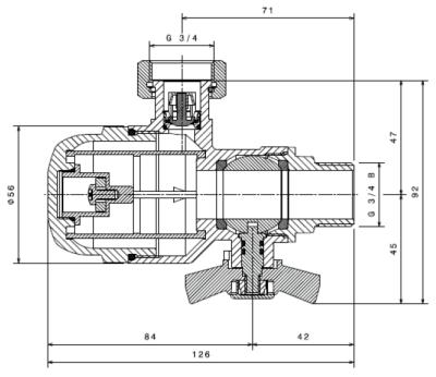 Ultima 128: Magnetický mechanický filtr - rozměry