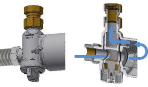 Ultima MG2: Kompaktní magnetický mechanický filtr - pozice otevřeno