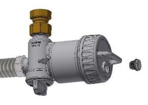 Ultima MG2: Kompaktní magnetický mechanický filtr - vypouštěcí zátka