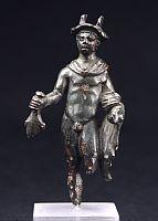 Römische Bronzestatuette des Merkur Foto: RLMB
