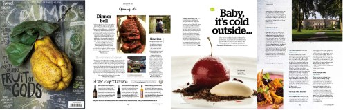 Crumbs magazine coverage for Wiltshire pub with rooms launch
