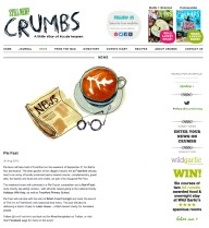 Crumbs food magazine