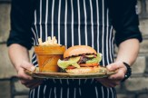 """Food truck"" burger"