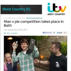 Avalanche launched Bath's first pie festival for the Inn at Freshford, attracting high profile media attention