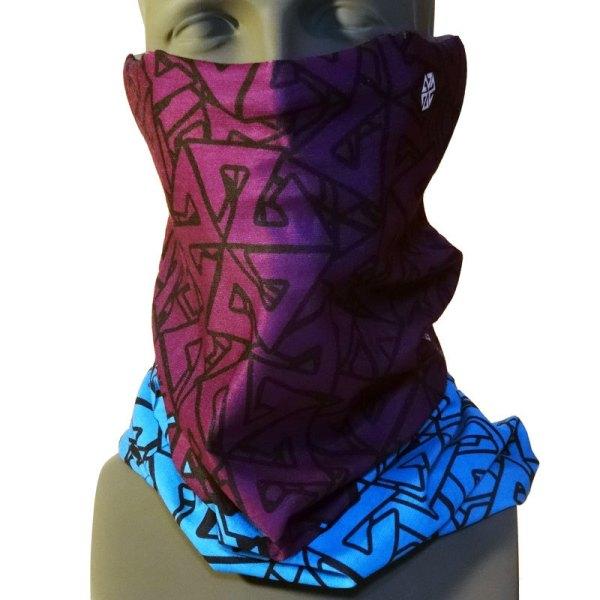 AVALON7 Tshield snowboarding Facemask Teal Purple