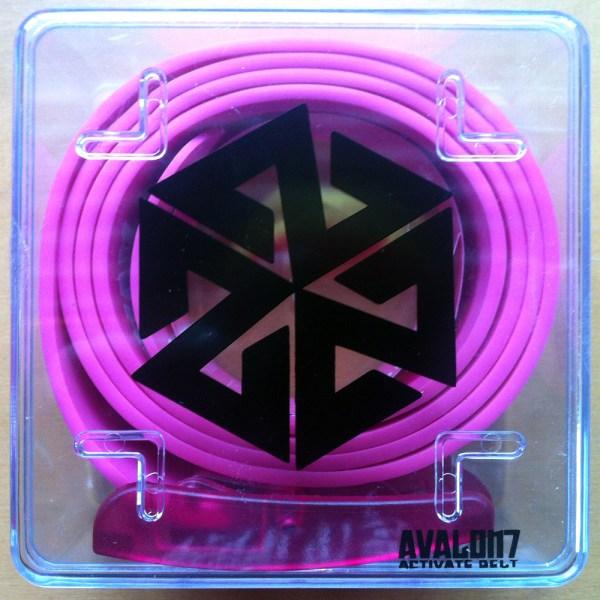 AVALON7 Silicone Belt- pink