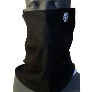 Black Bonded Fleece Tshield snowboard mask