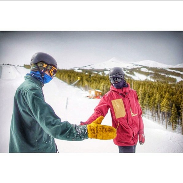 Snowboarding makes friendships for life.