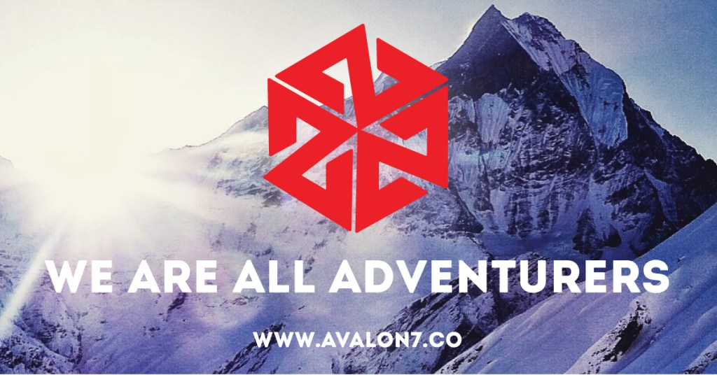 AVALON7 We are all Adventurers- snowboard facemasks