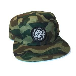 avalon7 adventure co. camo camp hat
