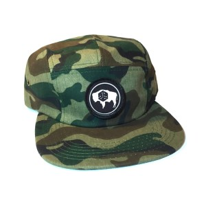 Avalon7 Wyoming bison patch camp hat