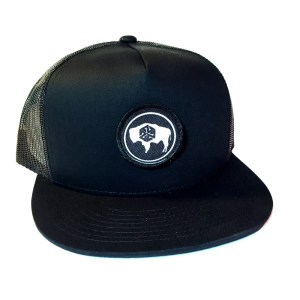 avalon7 wyoming bison bw snapback hat