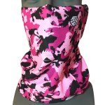avalon7 wyoming camo bronco pink faceshield facemask
