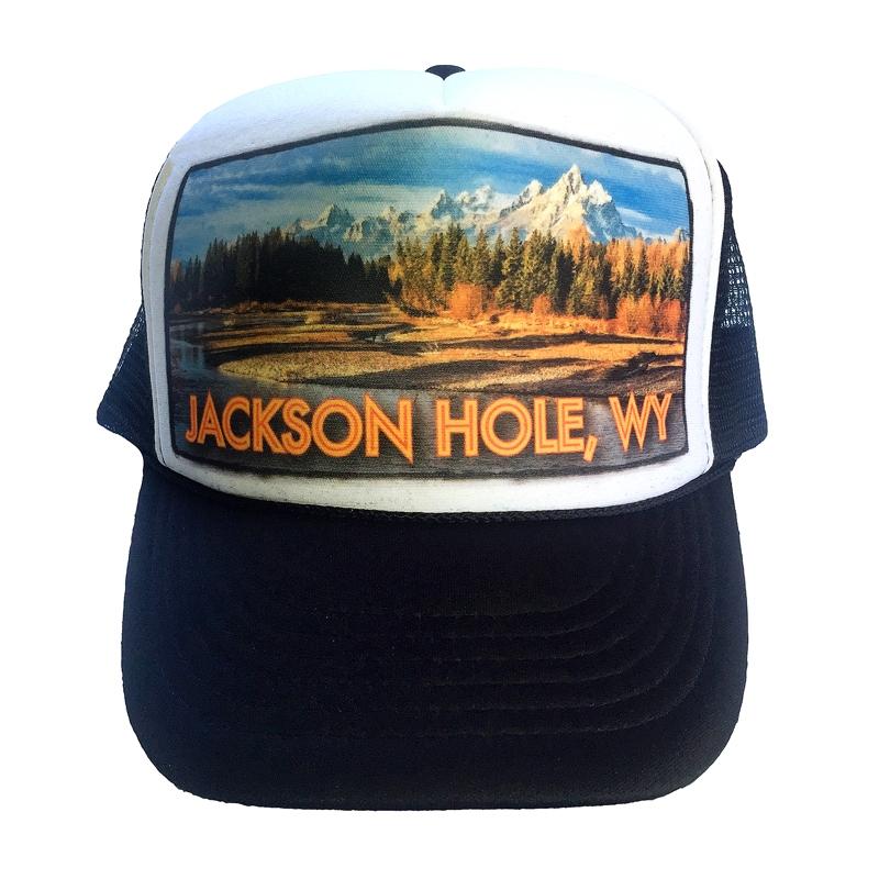 cf4480c4207ce Jackson Hole Moose Junction trucker hat by AVALON7. Handcrafted in the  Tetons.