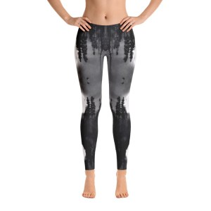 AVALON7 BLACK DAWN ARTIST NATURE LEGGINGS