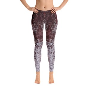 avalon7 artist series yoga pants red and white ice