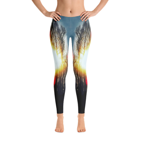 AVALON7 yoga pants leggings- cottonwood sunburst