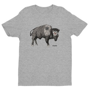 BISON WARRIOR TSHIRT | AVALON7