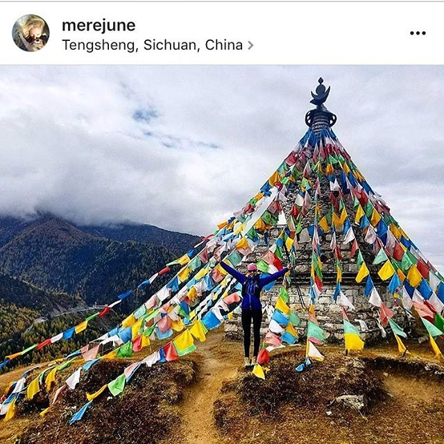 Ultra runner adventurer @merejune is at it again, this time getting ready to race at altitude in China. Give her a follow! #AVALON7 #seekthespark #ultrarunning