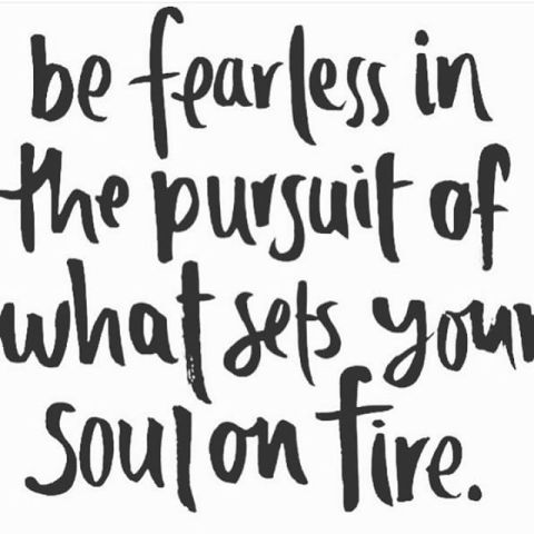Be fearless. www.A-7.co #avalon7 #futurepositiv #quotes