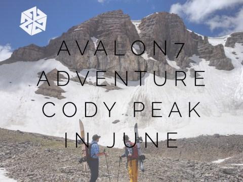 AVALON7 ADVENTURE   SNOWBOARDING CODY PEAK IN JUNE