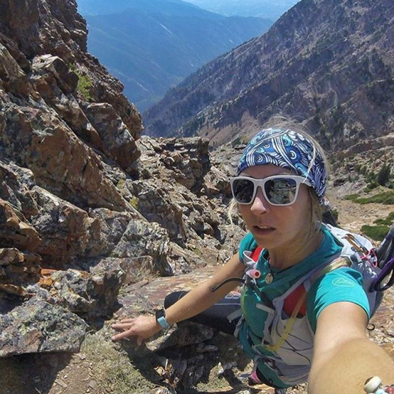 Congrats to A7 artist and all around badass @kyehalpin for completing the W.U.R.L. yesterday!  30 summits and 31 hours of dancing around in the mountains of Utah! #awesome #seekthestoke #climbing