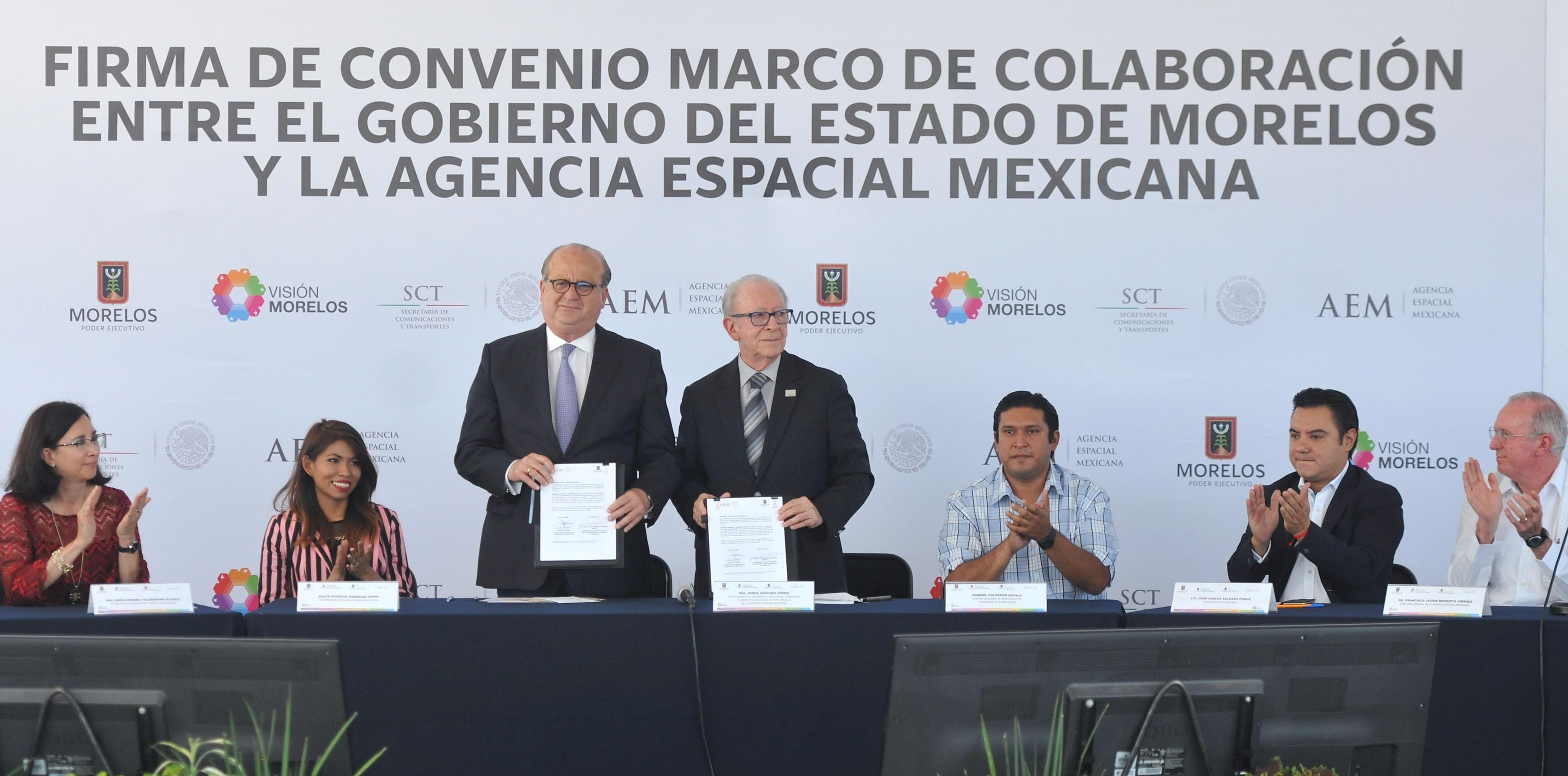 En Morelos la Agencia Espacial Mexicana