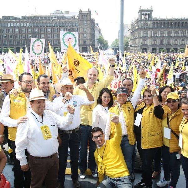 su presidenta, Alejandra Barrales Magdaleno