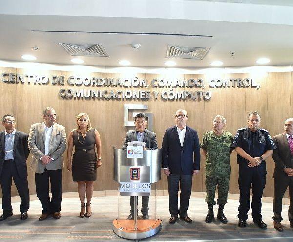 el gobernador Graco Ramírez