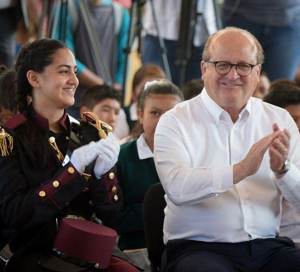 el gobernador de Morelos, Graco Ramírez, inauguró