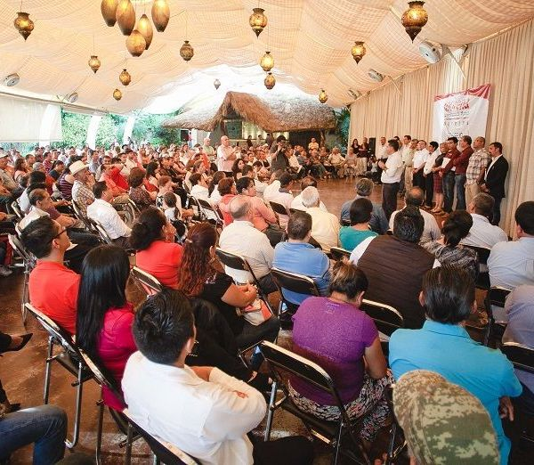 El Enlace Estatal de Morena Morelos, Rabindranath Salazar Solorio