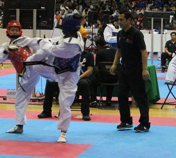 la llegada de diversos atletas de los diferentes puntos de la República Mexicana