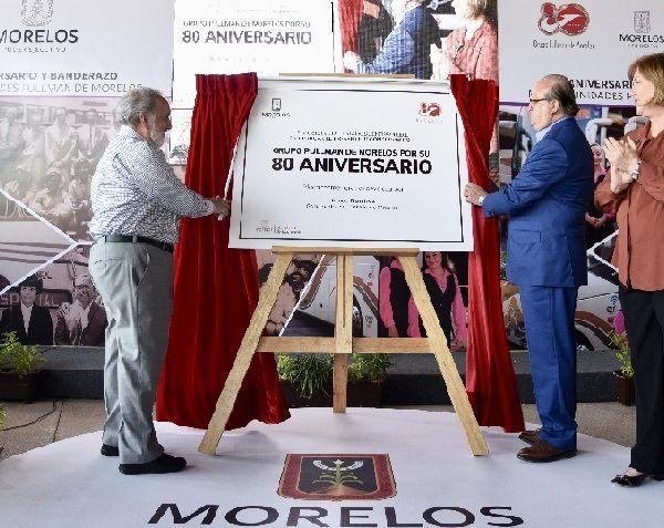 el gobernador Graco Ramírez afirmó que los morelenses están orgullosos