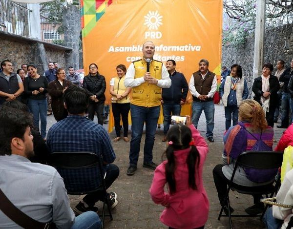 declaró el precandidato al gobierno del estado por el Partido de la Revolución Democrática, Rodrigo Gayosso Cepeda