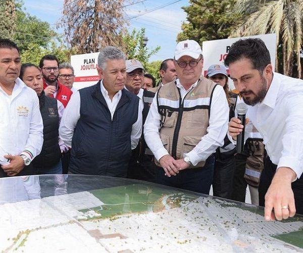 en marcha el Plan Jojutla, con una inversión de 200 millones de pesos, que aportó la Fundación Hogares del Infonavit