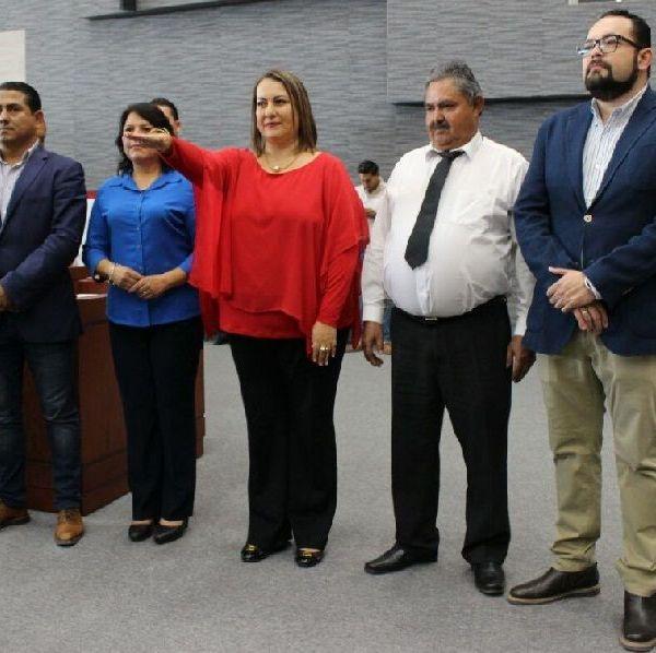 la diputada Norma Alicia Popoca Sotelo expresó a nombre del Grupo Parlamentario del Partido Acción Nacional su voto de confianza a la nueva Comisionada Ejecutiva