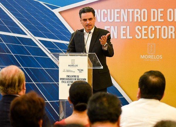 Morelos está avanzando y junto con sus recursos naturales y una ubicación logística única se ha convertido en un destino atractivo para el desarrollo de proyectos de infraestructura, transporte, almacenamiento y distribución de productos, afirmó el presidente de la Comisión Reguladora de Energía (CRE), Guillermo García Alcocer